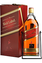 Johnnie Walker Red Label in gift box 4.5L