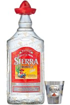 Sierra Silver 0.5L + Shot Glass