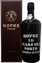 Kopke Porto 10 Years Old gift box