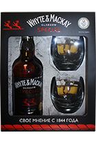 Whyte & Mackay Special gift box + 2 glasses