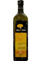 Olivers&Olivers Extra Virgin Olive Oil in glass 1L