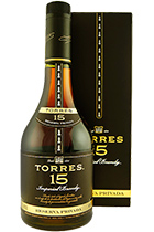 Torres 15 years Reserva Privada gift box