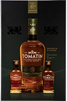 Set Tomatin 12 years + Tomatin 14 years 0,05l +Tomatin Cask Strength 0,05