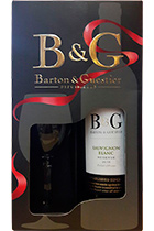 Barton & Guestier Sauvignon Blanc Reserve 2015 with a glass in gift box
