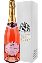 Didier Chopin Brut Rose gift box