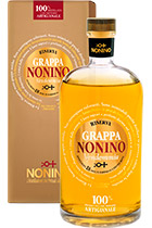 Grappa Vendemia Riserva di Annata in barriques in gift box