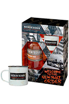Auchentoshan American Oak gift box with 2 cups