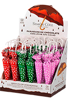 Chocolate Spotty Umbrella Simon Coll  35 г