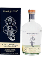 Grand Mezcal La Escondida in gift box