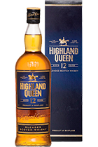 Highland Queen 12 years old gift box