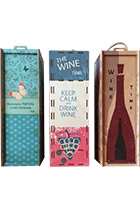 Wooden Wine Box (in assortment)