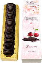 Chocolate Petals with Cherry 100 gr