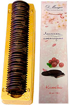 Chocolate Petals with Cranberry 100 gr