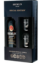 Kremlin Award gift box with 2 glasses
