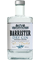Barrister Dry Gin 0,5L