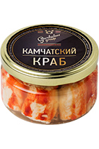 Canned Crab Premium glass jar 250 gr