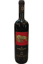 Alma Valley Shiraz Reserve 2015