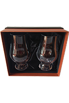 Glencairn Whiskey Glass set of 2 glasses gift box