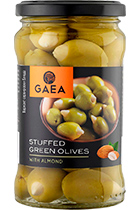 Gaea Green Olives Stuffed with Almond 295 gr