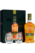 Tomatin 12 Years gift set with 2 glasses