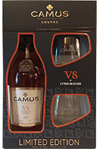 Camu Elegance VS gift box with 2 glass
