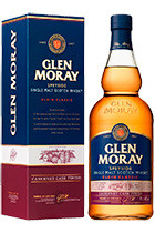 Glen Moray Elgin Classic Cabernet Cask Finish gift box