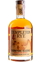 Templeton Rye Signature Reserve 4 Years Old