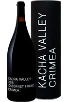 Kacha Valley Cabernet Franc Crimea 2016 gift tube 1,5L